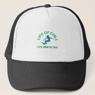 life of chill trucker hat