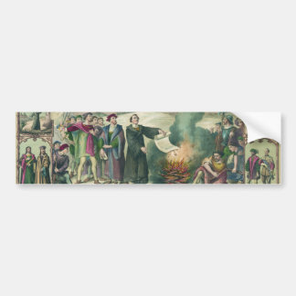 Life of Martin Luther & Heroes of the Reformation Bumper Sticker