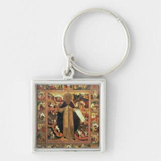 Life of St. Sergius of Radonesh, 1640s Key Ring