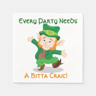 'Life Of The Party' Irish Paper Party Napkins Paper Napkins