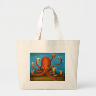 Life Of The Party Large Tote Bag
