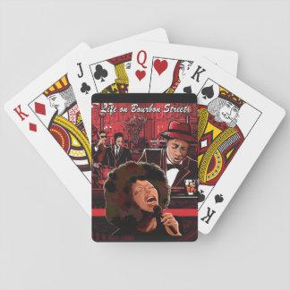 Life on Bourbon Street Playing Cards, Music Theme Poker Deck