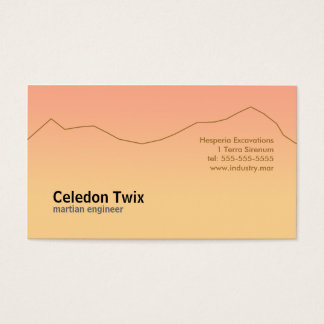 Life on Mars Business Card