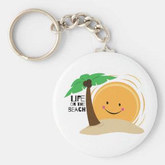 Life on the Beach Keychain