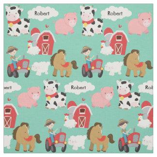Life on the Farm Fabric