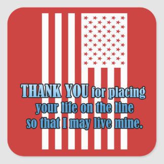 Life On The Line Veterans Day Stickers