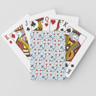 Life Preserver and Anchor Playing Cards