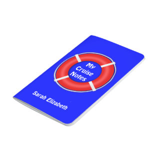 Life Preserver Personalised Cruise Journal