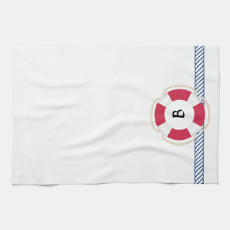 Life preserver Rope Nautical Towel