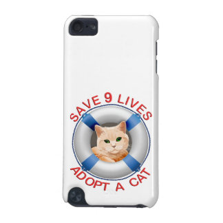 Life Preserver with Cat Adoption iPod Touch 5G Cover