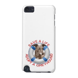Life Preserver with Greyhound Adoption iPod Touch (5th Generation) Cover