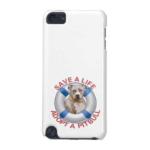 Life Preserver with Pitbull Adoption iPod Touch (5th Generation) Covers
