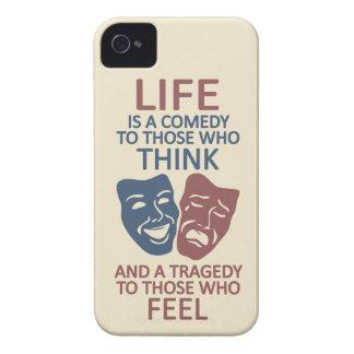 LIFE quote custom iPhone case-mate iPhone 4 Case-Mate Case