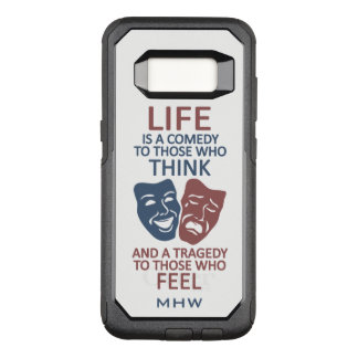 Life Quote custom monogram phone cases