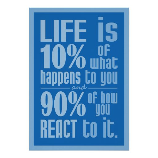 LIFE QUOTE poster