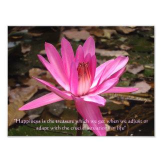 Life Quotes Photographic Print