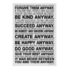 Life Quotes Poster