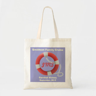 Life Ring Personalized Tote Bag