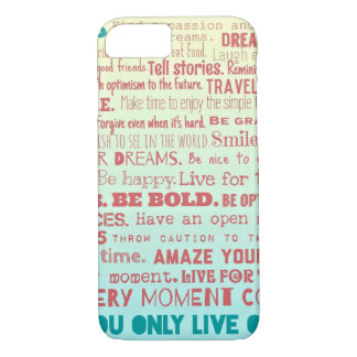 Life Rules... iPhone 7 Case