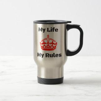 life rules travel mug