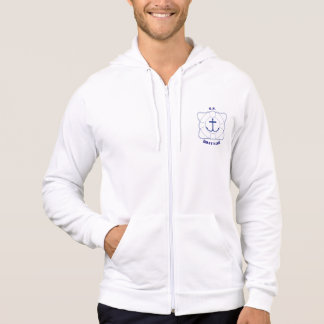 Life Saver/Anchor Men's Hoodie (Dark Print)