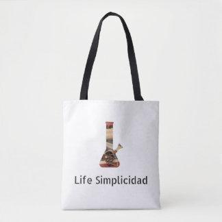 Life Simplicidad Jesus Bong Tote Bag