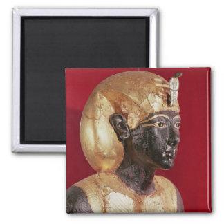 Life size statue of Tutankhamun Square Magnet