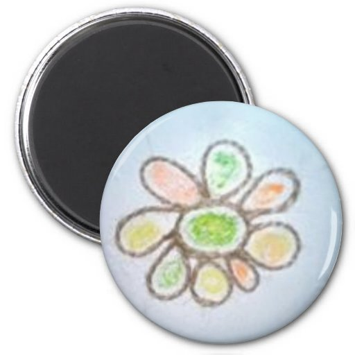 Life Sized Flower Magnet