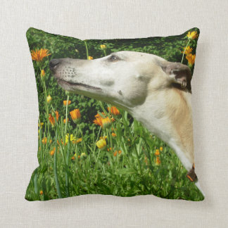 """Life smells sweet"" throw cushion"