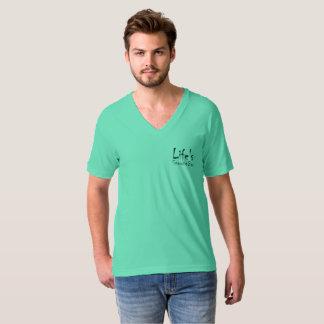 Life Snooze Bar Men's V-Neck T-Shirt