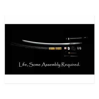 Life Some Assembly Required Postcard