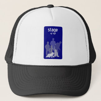 Life stages trucker hat