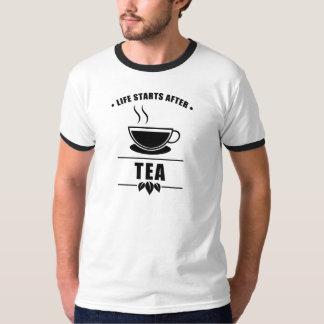 Life Starts After TEA T-Shirt