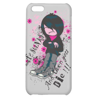 life stinks emo kid iPhone 5C cover