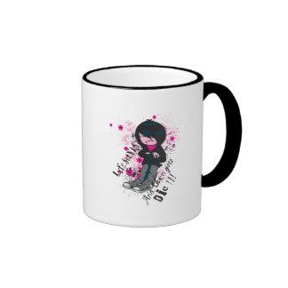 life stinks emo kid coffee mug