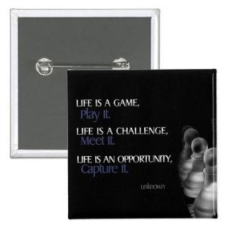 Life Success Inspirational Button