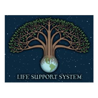 Life Support Sysytem Postcard