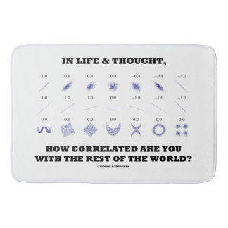 Life Thought How Correlated Are You With World Bath Mats