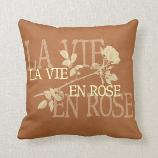 Life through Pink Glasses - La Vie en Rose Throw Pillow