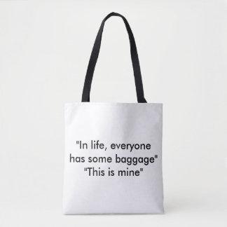 Life Tote Bag Custom design by Lookingood Images