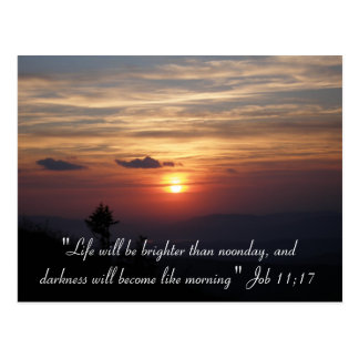 """""""Life will be..."""" - Postcard"""