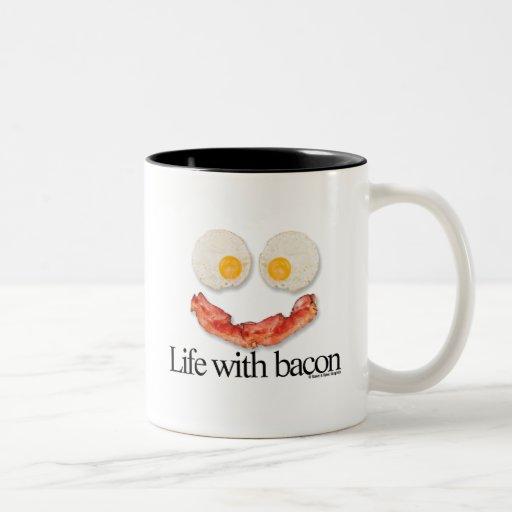 Life with Bacon Coffee Mug