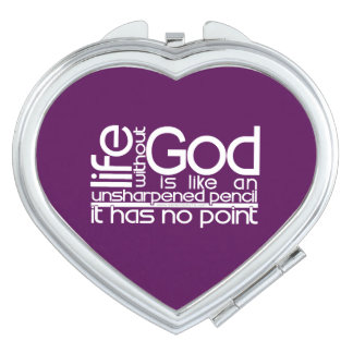 Life Without God... Compact Mirrors