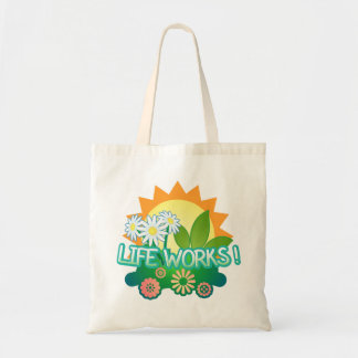 Life Works! Budget Tote Bag