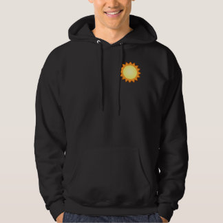 Life Works! Men's dark Hooded Sweatshirt