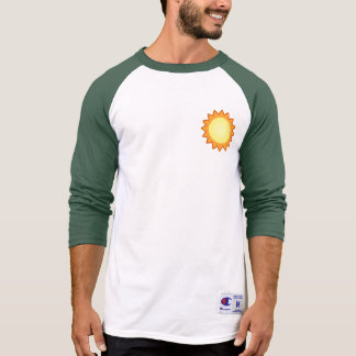 Life Works! Men's green Raglan T-Shirt