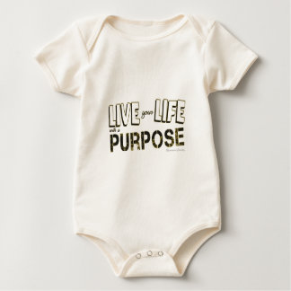 Life your life with a purpose baby bodysuit