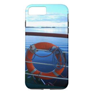 lifebuoy image with idyllic lake in background iPhone 8 plus/7 plus case