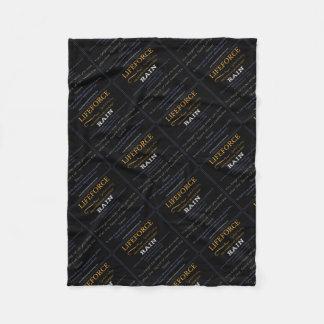 LifeForce Meditation Mat: RAIN Fleece Blanket