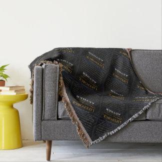 LifeForce Meditation Rug: AETHER Throw Blanket
